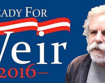 Ready for Weir 2016 - Bumper Sticker!
