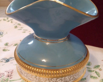 REDUCED  Golden Century Vase by n & C Italy