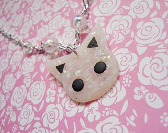 Opal Kitty Necklace