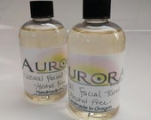 All Natural, Alcohol Free Facial Toner with Aloe Vera, Chamomile, Grapefruit, White Tea 4oz.