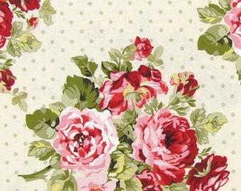 Rose Garden Crib Sheet