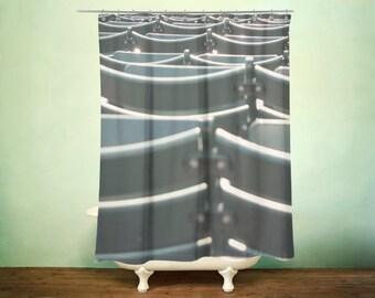 baseball stadium shower curtain for the red sox baseball fan - Boston Red Sox Bath Accessories