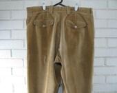 1980's men's Woolrich tan corduroy pants size 40 x 33