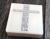 John 3:16 Peppermint Soap - For God So Loved the World