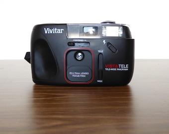1990s Vivitar Camera Vista Tele Tele-Wide Panorama 35MM Film 70MM Lens