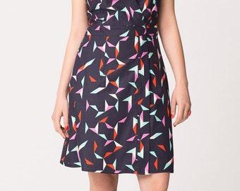 Origami Wrap Dress on Sale