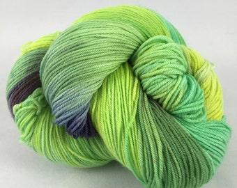 Lily Pads: Superwash Carrick Hand Painted Sock Yarn
