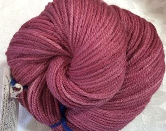 """Amethyst -  Hearthside Fibers """"Extravagance"""" - Polwarth/silk DK - Hand Dyed"""