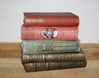 Reserve For Joan Vintage Book Decor