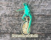 Here Come Dat Boi!!! Meme Pin
