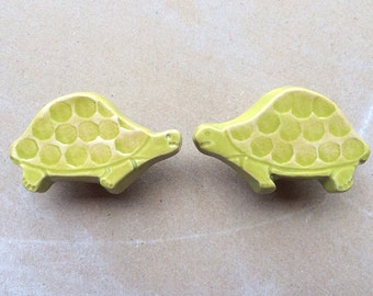 Turtles- woodland animal furniture knobs