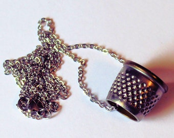 Thimble Kiss for Peter Pan Stainless Steel and Steel   Acorn for Thimble
