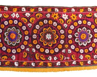 Handmade Vintage Suzani NL3051