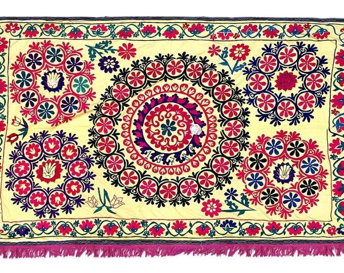 Handmade Vintage Suzani NL2458