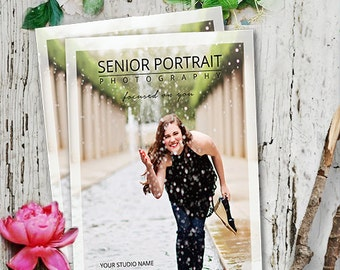 Photography Template Senior Magazine, Senior Magazine Template, Senior Photography Template, Senior Magazine Photoshop Template
