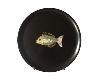 Couroc Fish Plate, Tray