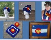 Colorado Crochet Pattern E Book - Instant Download