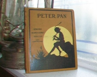 1916 Peter Pan Book Retold From Sir James Barrie's Famous Play