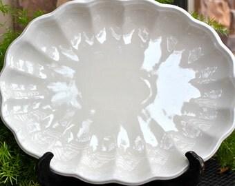 Large White Platter