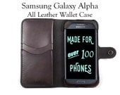 Galaxy Alpha Leather Wall...