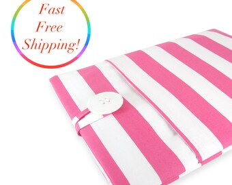 Kindle Paperwhite Case, Kindle Paperwhite Sleeve, Kindle Paperwhite Cover, Kindle Cover, Kindle Sleeve, Kindle Case - Pink Stripe