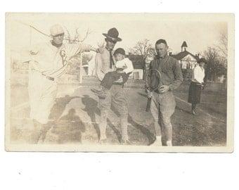 the Curious Onlooker snapshot group portrait found art photo vernacular photography social realism Army Tennis Baseball fine art