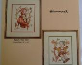 Hummel Cross Stitch Chart Pattern The Apple Tree with Girl & Boy Designs