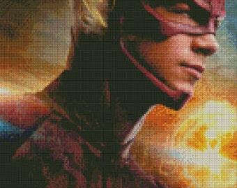 CW Flash Cross Stitch Pattern