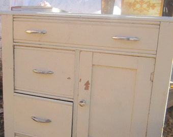 Shabby cupboard  vintage farmhouse  cottage shabby decor prairie cottage chic