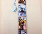 Upcycled Doctor Who Comic Book Bookmark