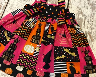 halloween dress, girls halloween dress, halloween party dress, halloween birthday dress, girls halloween party, halloween birthday outfit