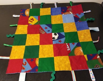 Baby Tag Blankets