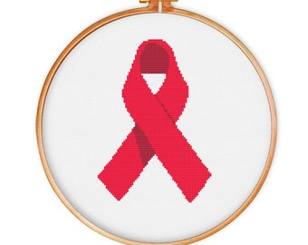 Aids/Heart Disease Ribbon