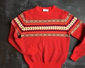 Vintage Richwil's Back to Back FairIsle Sweater