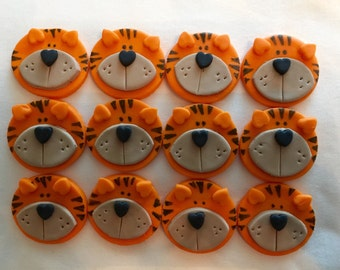 Fondant Toppers - Tigers