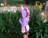 Baby Unicorn Hoodie - Lilac Girl Hoodie - ON SALE - Unicorn Lilac Costume - Dress Up Clothes - Play Clothes - Unicorn Birthday