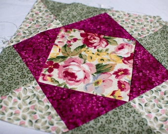 16 Quilted quilting squares