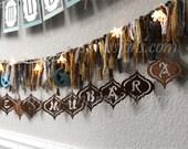 Hanging Eid, Ramadan, Kareem and Mubarak Teardrop Ornaments