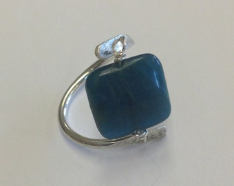 Agate ring, size 10