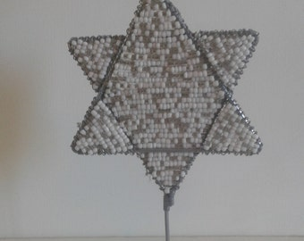 STAR OF DAVID - Magen David - Jewish Star - Ornament - Table Decoration -Table Centerpiece