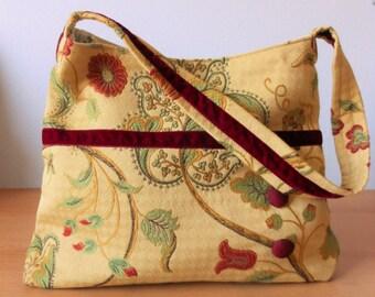 Jacobean Fabric Handbag/Purse