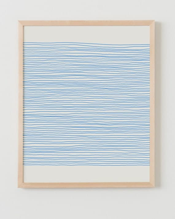 Fine Art Print.  Stripes.  April 25, 2012.