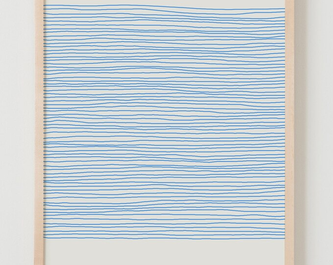 Fine Art Print.  Stripes.  April 25, 2012.