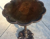 Beautiful Art Deco Imperial Furniture Co. Pedestal Table - Grand Rapids Michigan