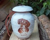 CUSTOM Dog Urn 25 lb Pet