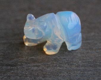 Opalite Stone Bear Figurine F105