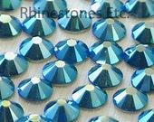 Emerald AB 2058 Swarovski Elements Rhinestones 16ss Flat back, 36 pieces