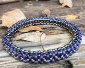 Bangle in Right Angle Weave
