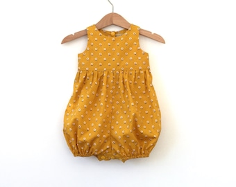 Baby girl romper bubble romper playsuit