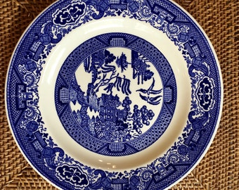 Willow Ware Dinner Plate by Royal China Sebring USA